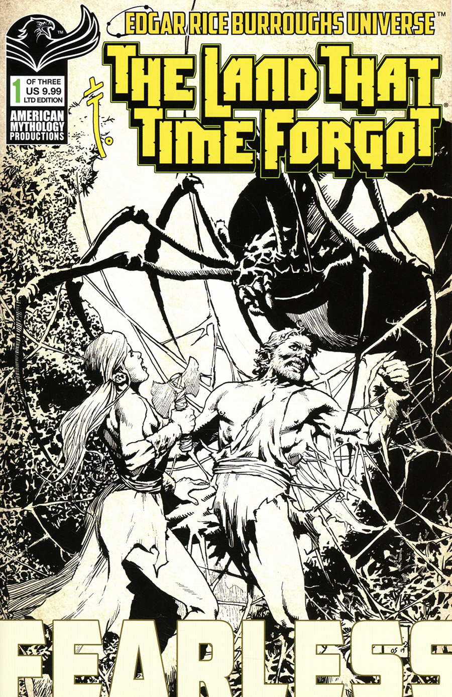 Land That Time Forgot Fearless #1 Cover C Limited Edition Roy Allan Martinez Variant Cover