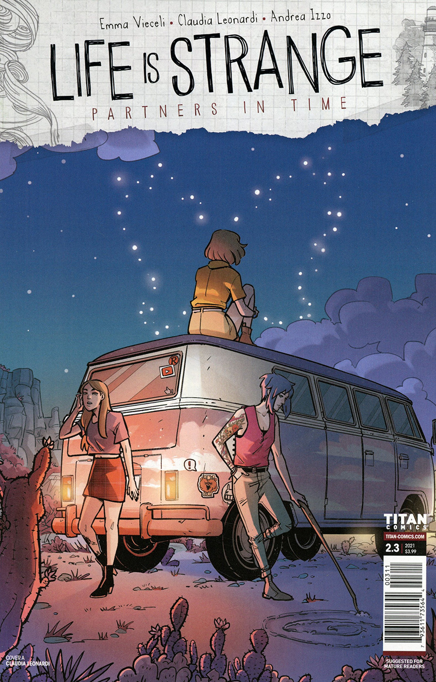 Life Is Strange Partners In Time #3 Cover A Regular Claudia Leonardi Cover