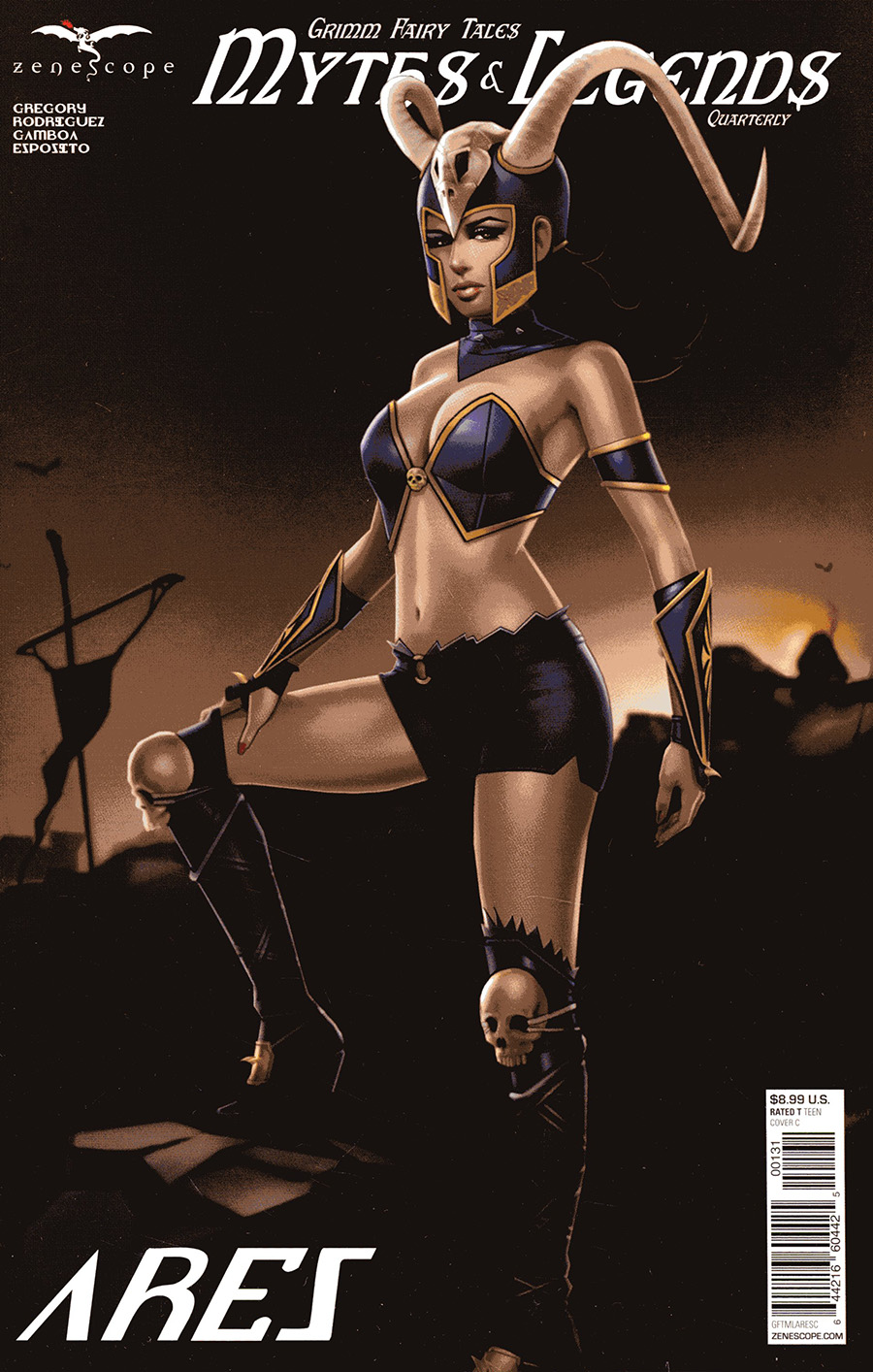 Grimm Fairy Tales Presents Myths & Legends Quarterly #1 Aries Cover C Keith Garvey