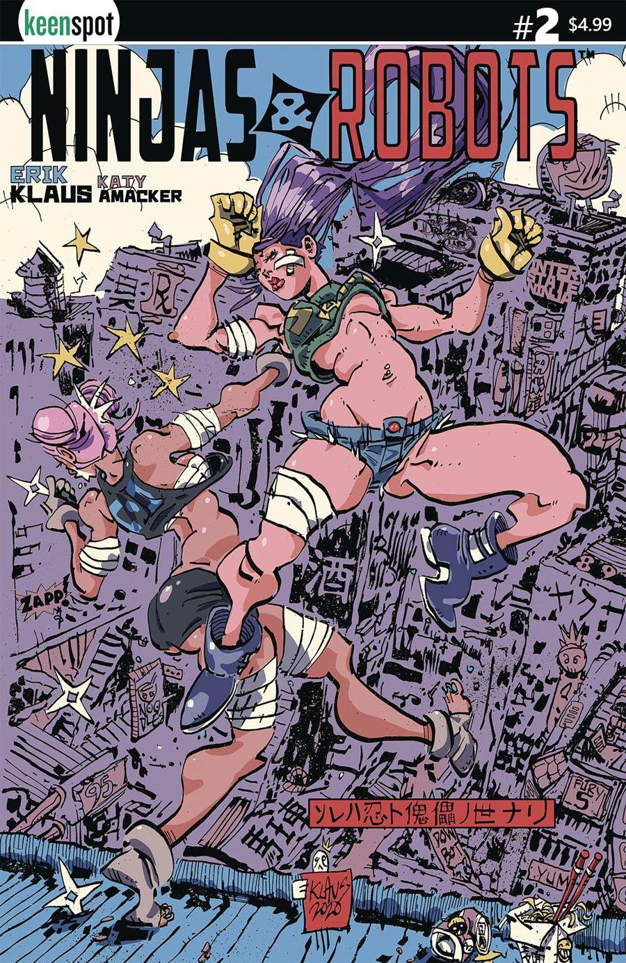 Ninjas And Robots #2 Cover A Regular Erik Klaus Cover