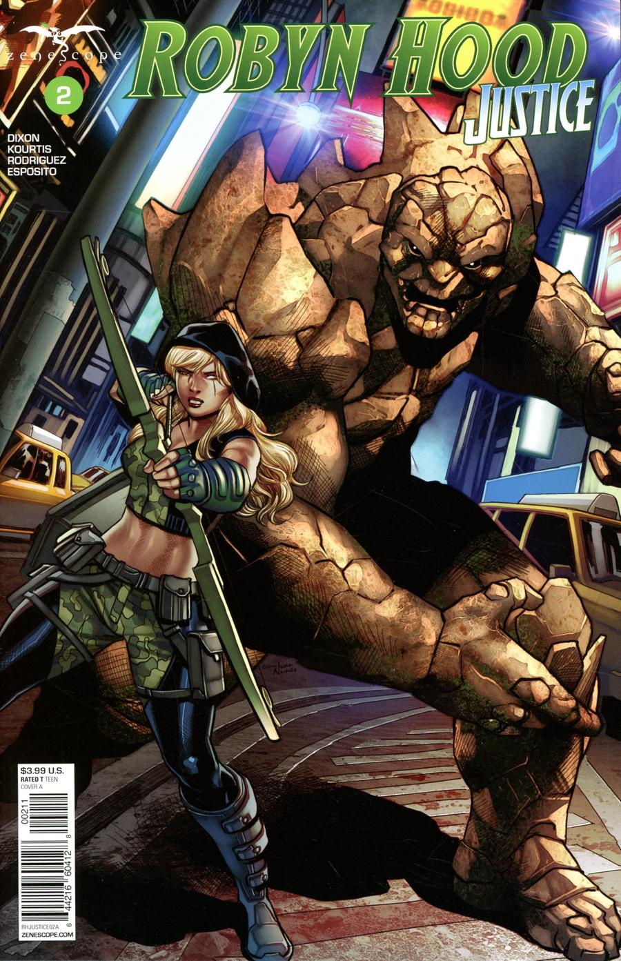 Grimm Fairy Tales Presents Robyn Hood Justice #2 Cover A Martin Coccolo