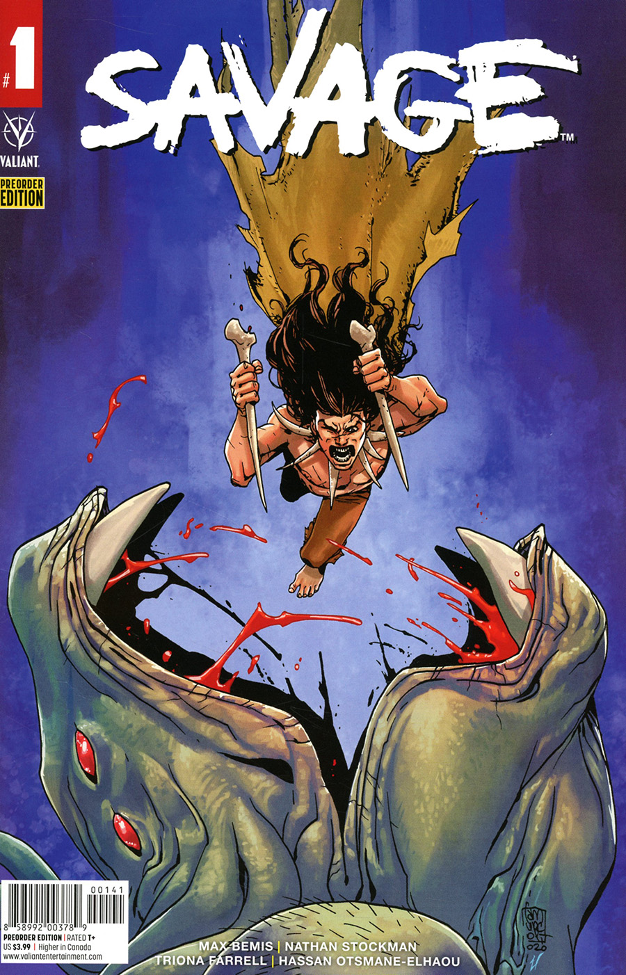 Savage Vol 2 #1 Cover C Variant Pre-Order Edition - RESOLICITED