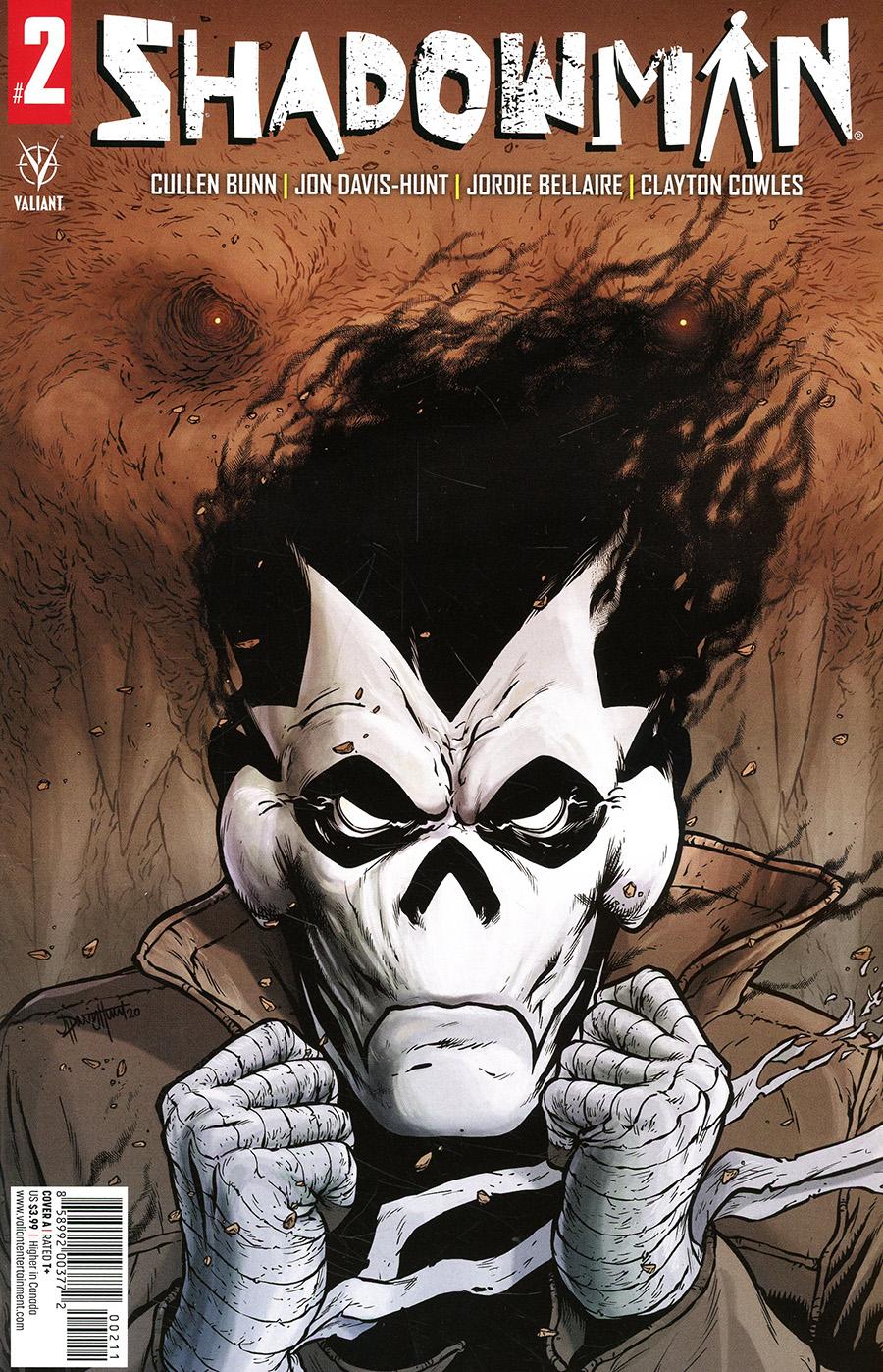 Shadowman Vol 6 #2 Cover A Regular Jon Davis-Hunt Cover