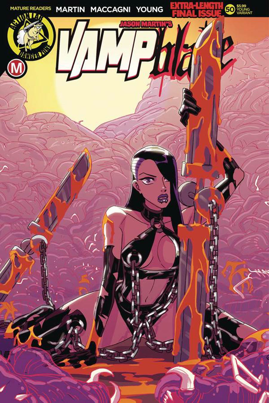 Vampblade Season 4 #50 Cover C Variant Winston Young Cover
