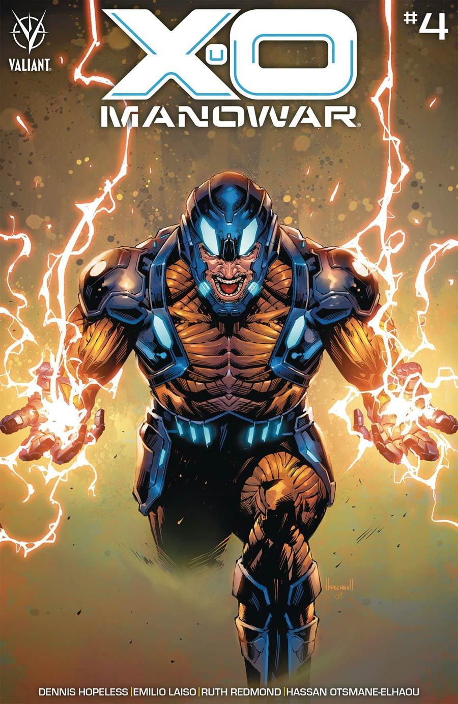 X-O Manowar Vol 5 #4 Cover C Variant Kael Ngu Cover