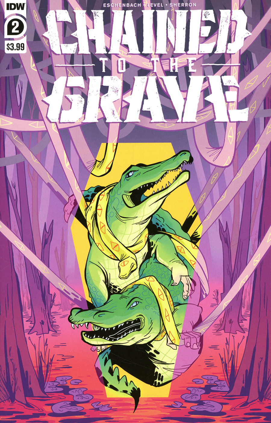 Chained To The Grave #2 Cover A Regular Kate Sherron Cover