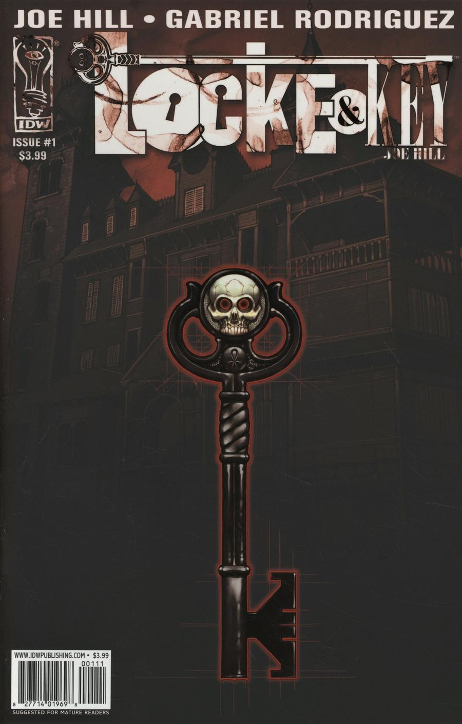 Locke & Key #1 Cover H Facsimile Edition