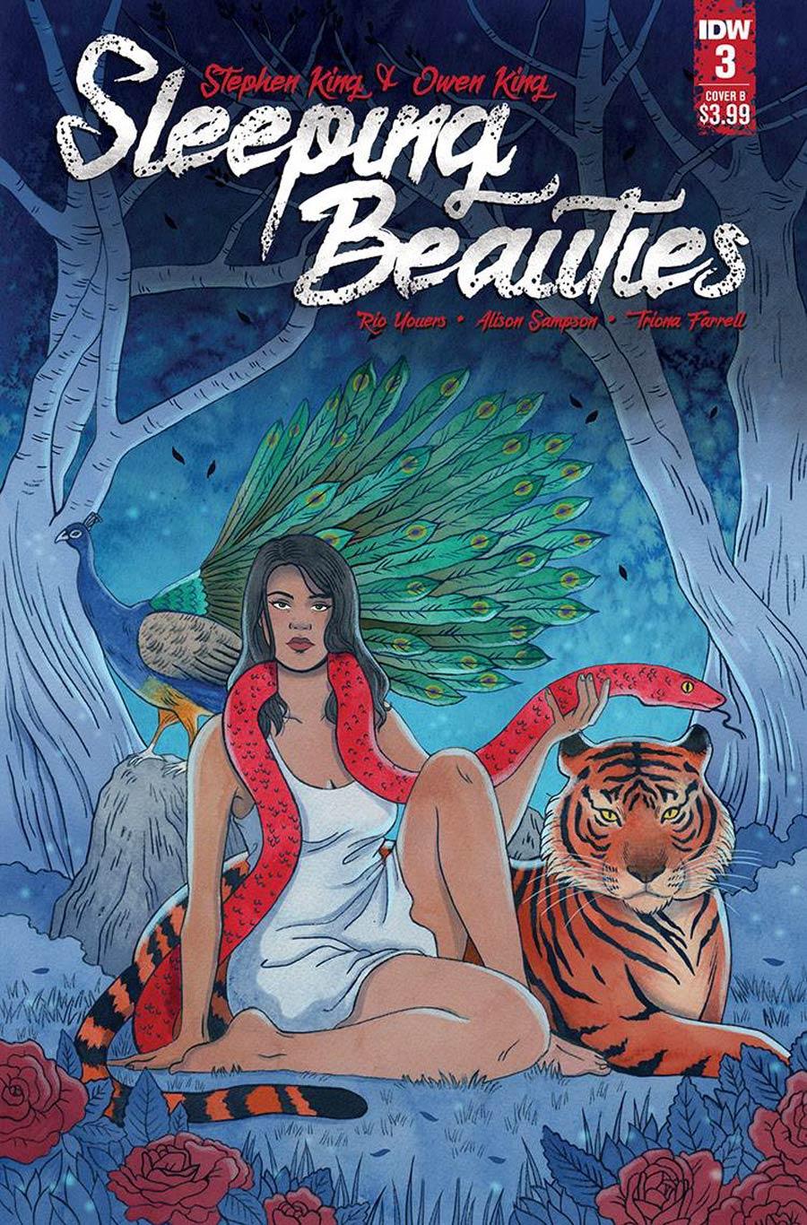 Sleeping Beauties #3 Cover B Variant Jenn Woodall Cover