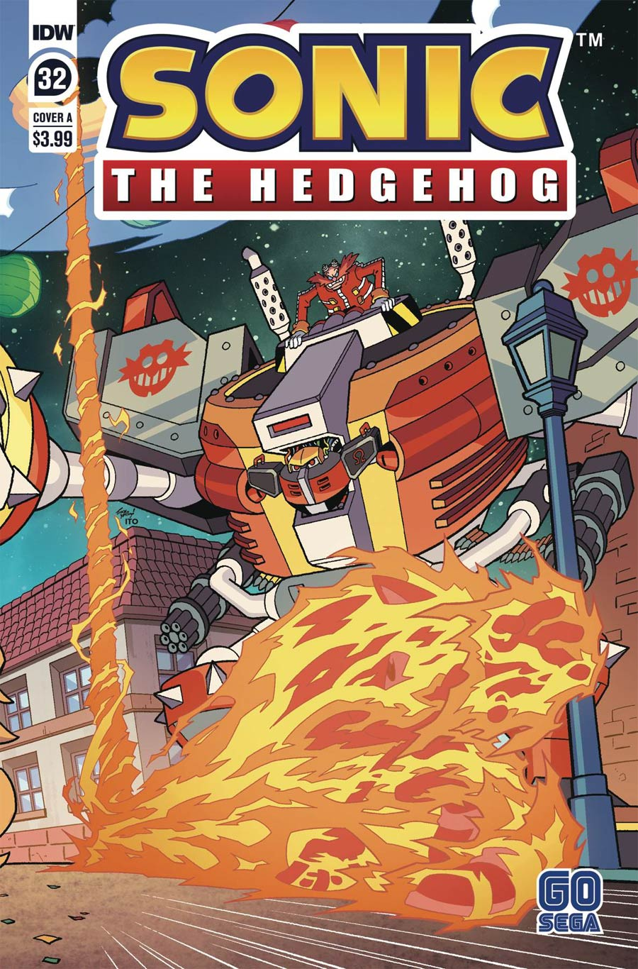 Sonic The Hedgehog Vol 3 #32 Cover A Regular Tracy Yardley Cover