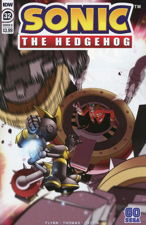 Sonic The Hedgehog Vol 3 #32 Cover B Variant Adam Bryce Thomas Cover