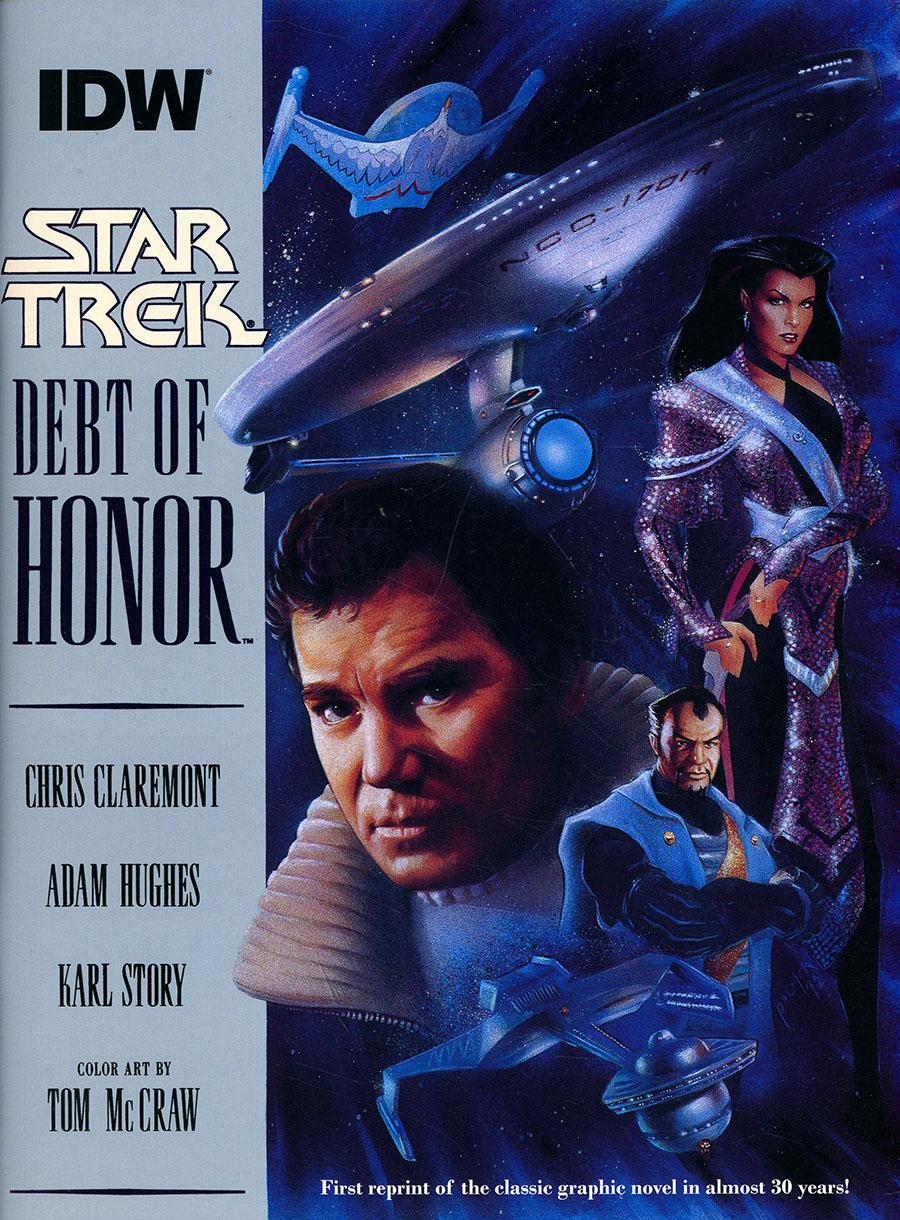 Star Trek Debt Of Honor Facsimile Edition