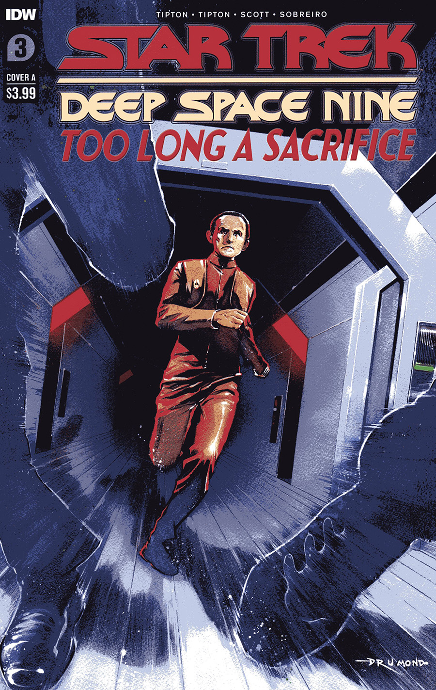 Star Trek Deep Space Nine Too Long A Sacrifice #3 Cover A Regular Ricardo Drummond Cover