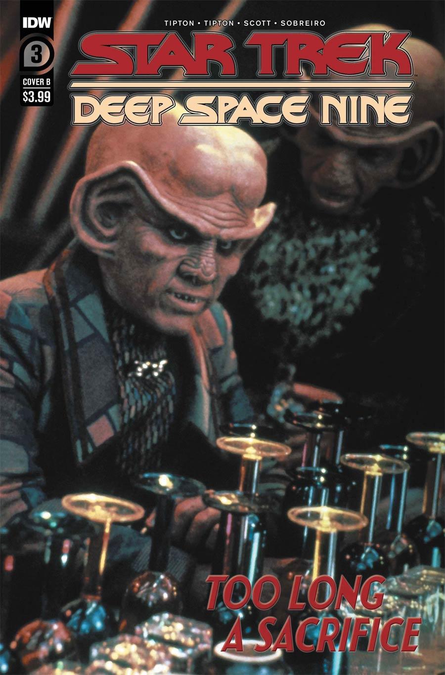 Star Trek Deep Space Nine Too Long A Sacrifice #3 Cover B Variant Photo Cover
