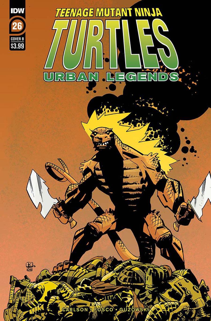 Teenage Mutant Ninja Turtles Urban Legends #26 Cover B Variant Andy Kuhn Cover