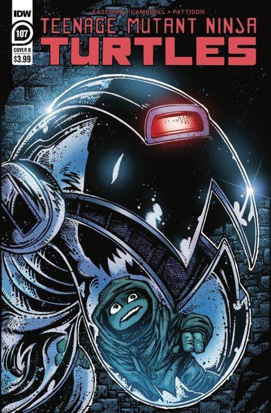 Teenage Mutant Ninja Turtles Vol 5 #107 Cover B Variant Kevin Eastman Cover