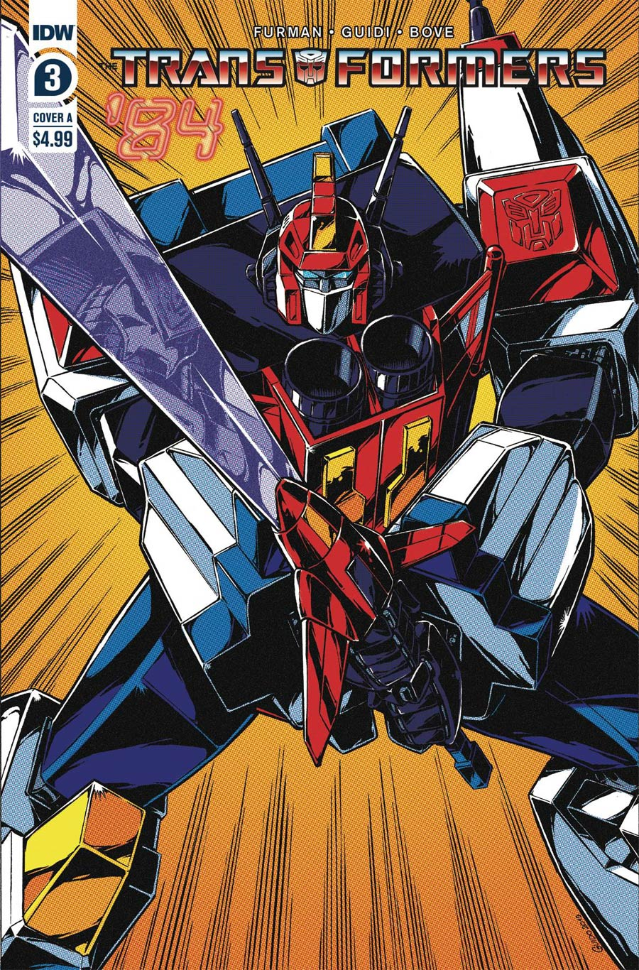 Transformers 84 Secrets And Lies #3 Cover A Regular Guido Guidi Cover