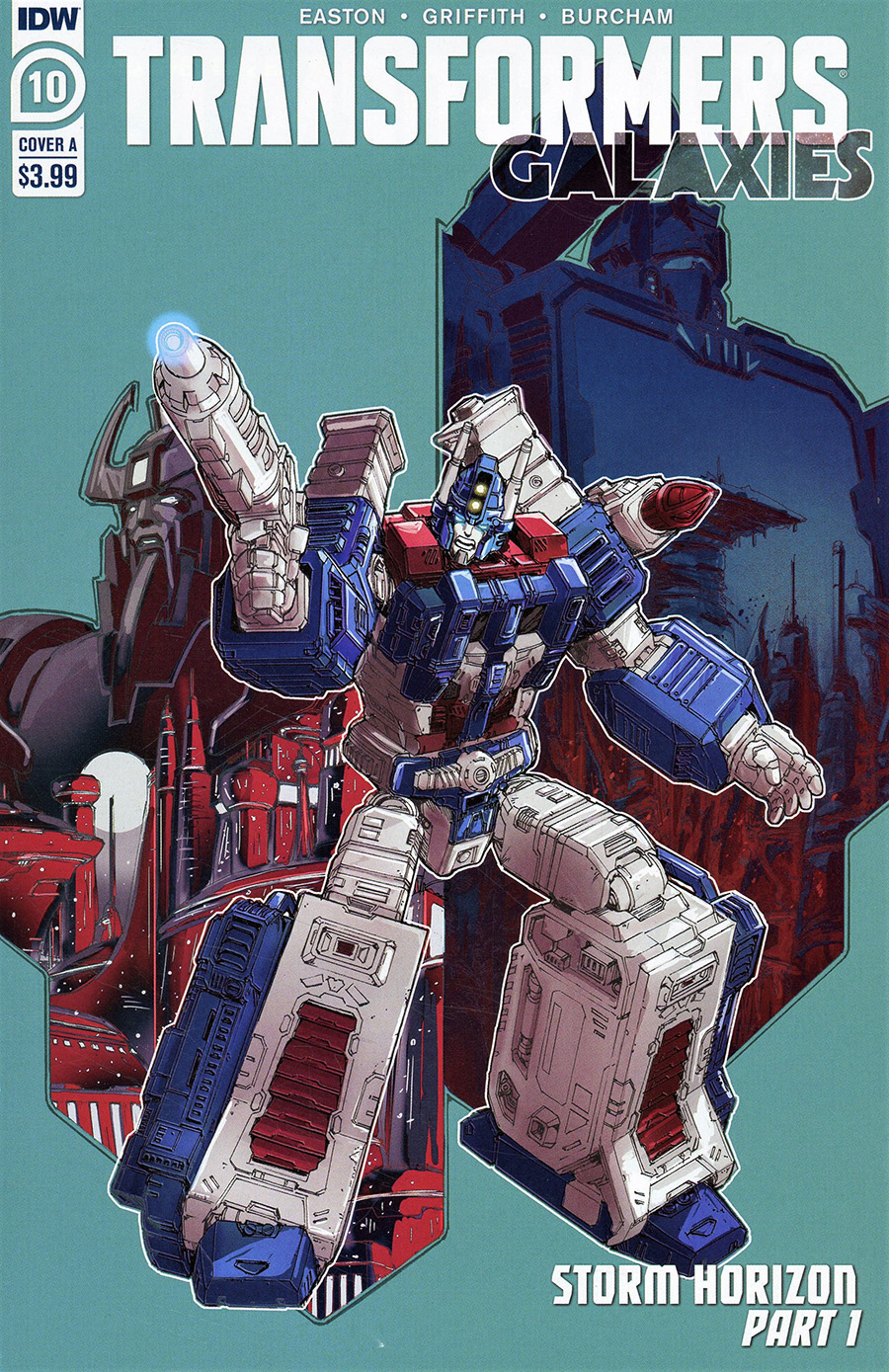 Transformers Galaxies #10 Cover A Regular Andrew Griffith Cover