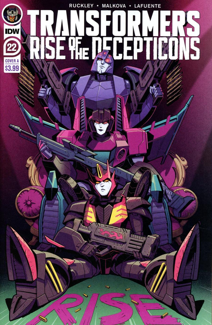Transformers Vol 4 #22 Cover A Regular Anna Malkova Cover