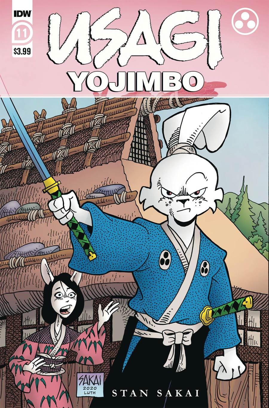 Usagi Yojimbo Vol 4 #11