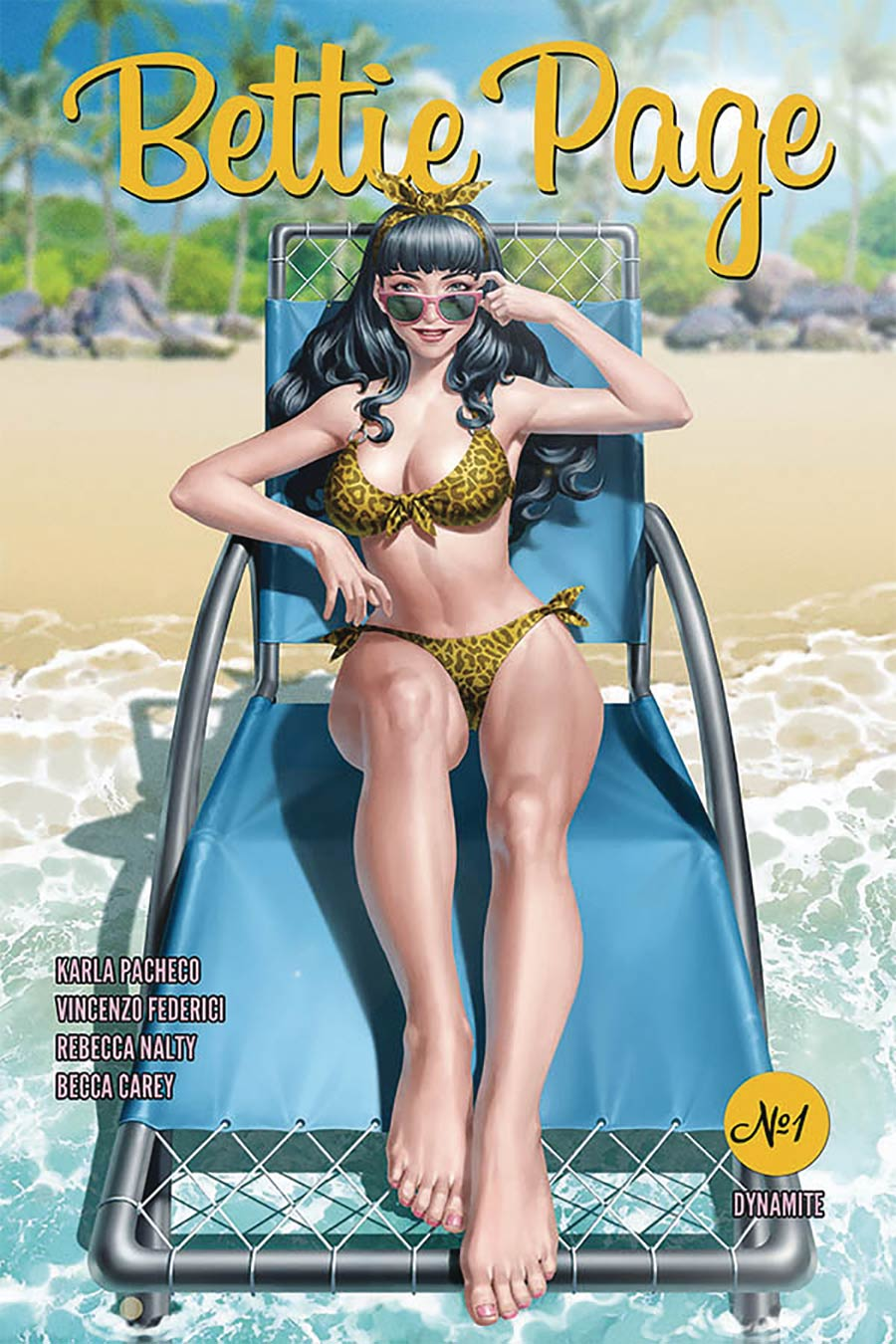 Bettie Page Vol 3 #1 Cover A Regular Junggeun Yoon Cover