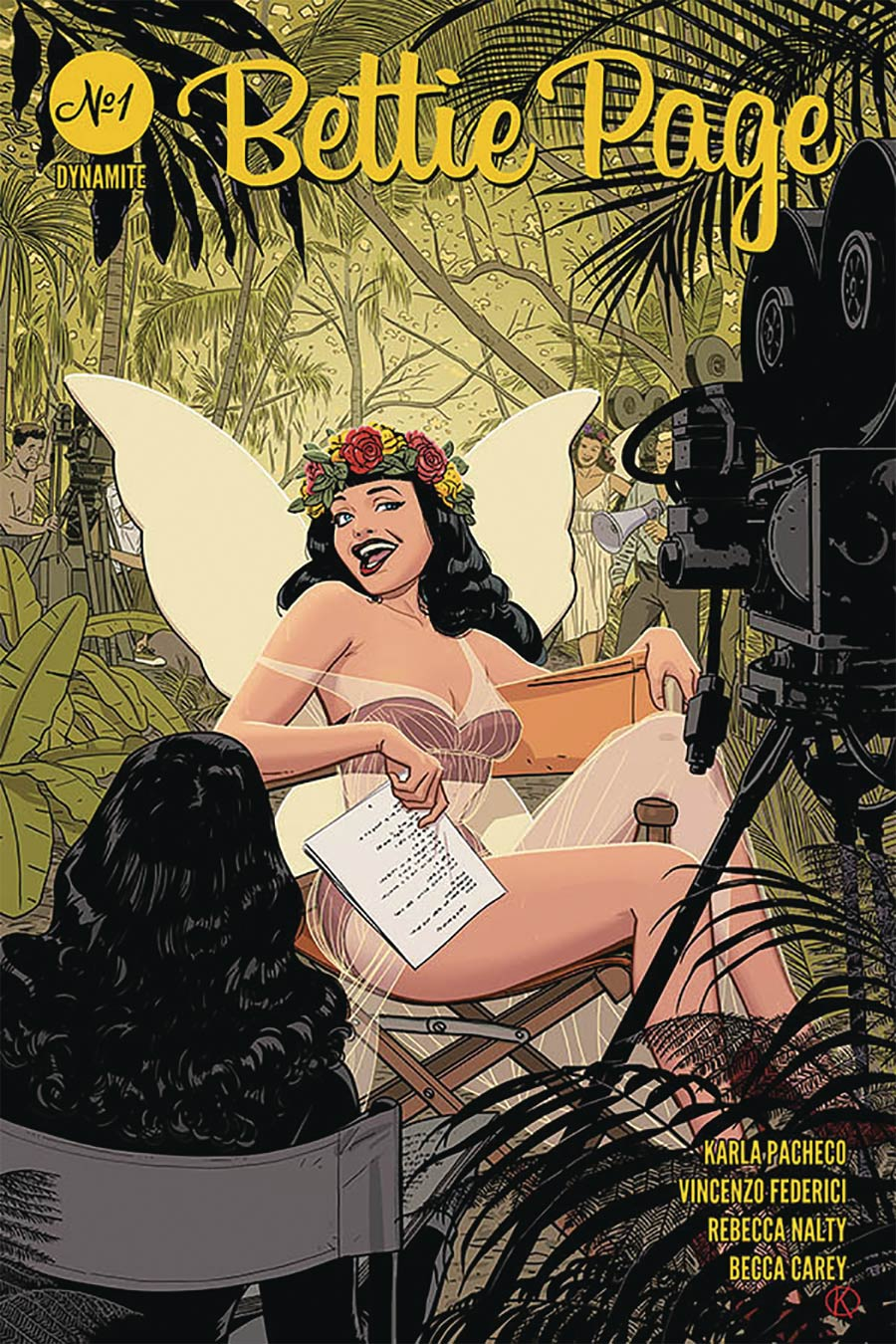 Bettie Page Vol 3 #1 Cover B Variant Kano Cover