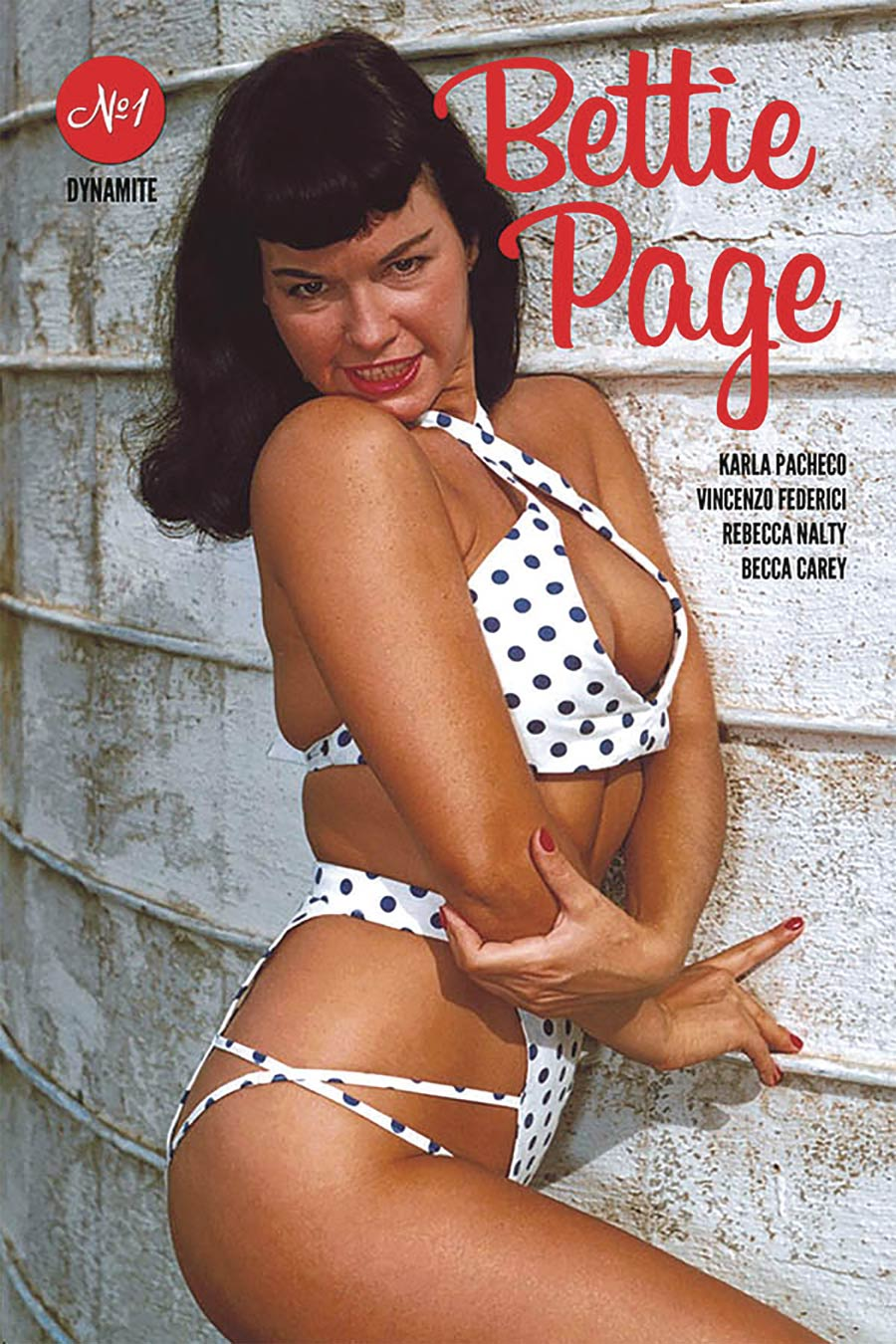 Bettie Page Vol 3 #1 Cover E Variant Bettie Page Photo Cover