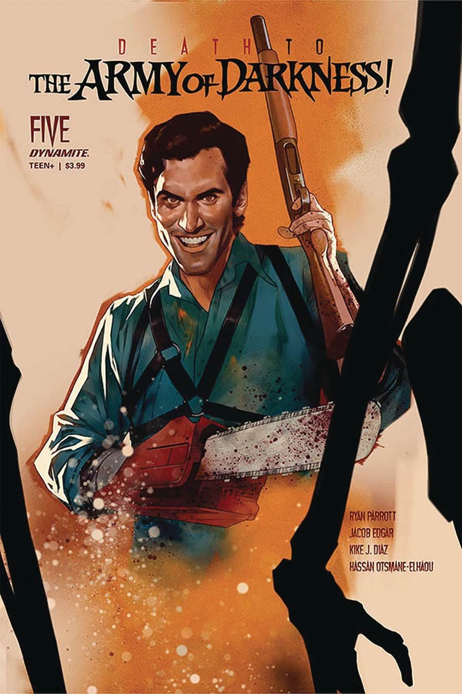 Death To The Army Of Darkness #5 Cover A Regular Ben Oliver Cover