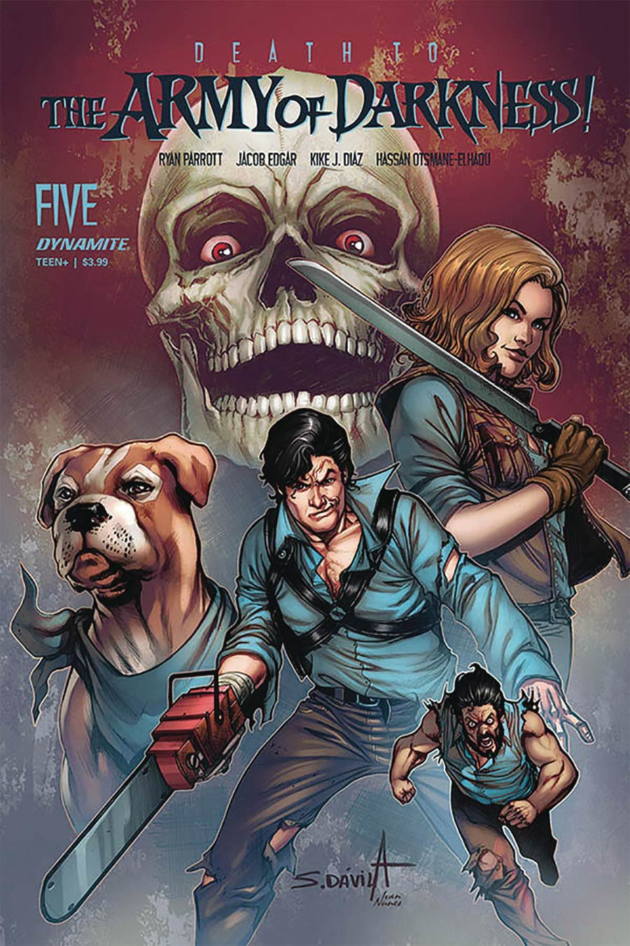 Death To The Army Of Darkness #5 Cover B Variant Sergio Davila Cover