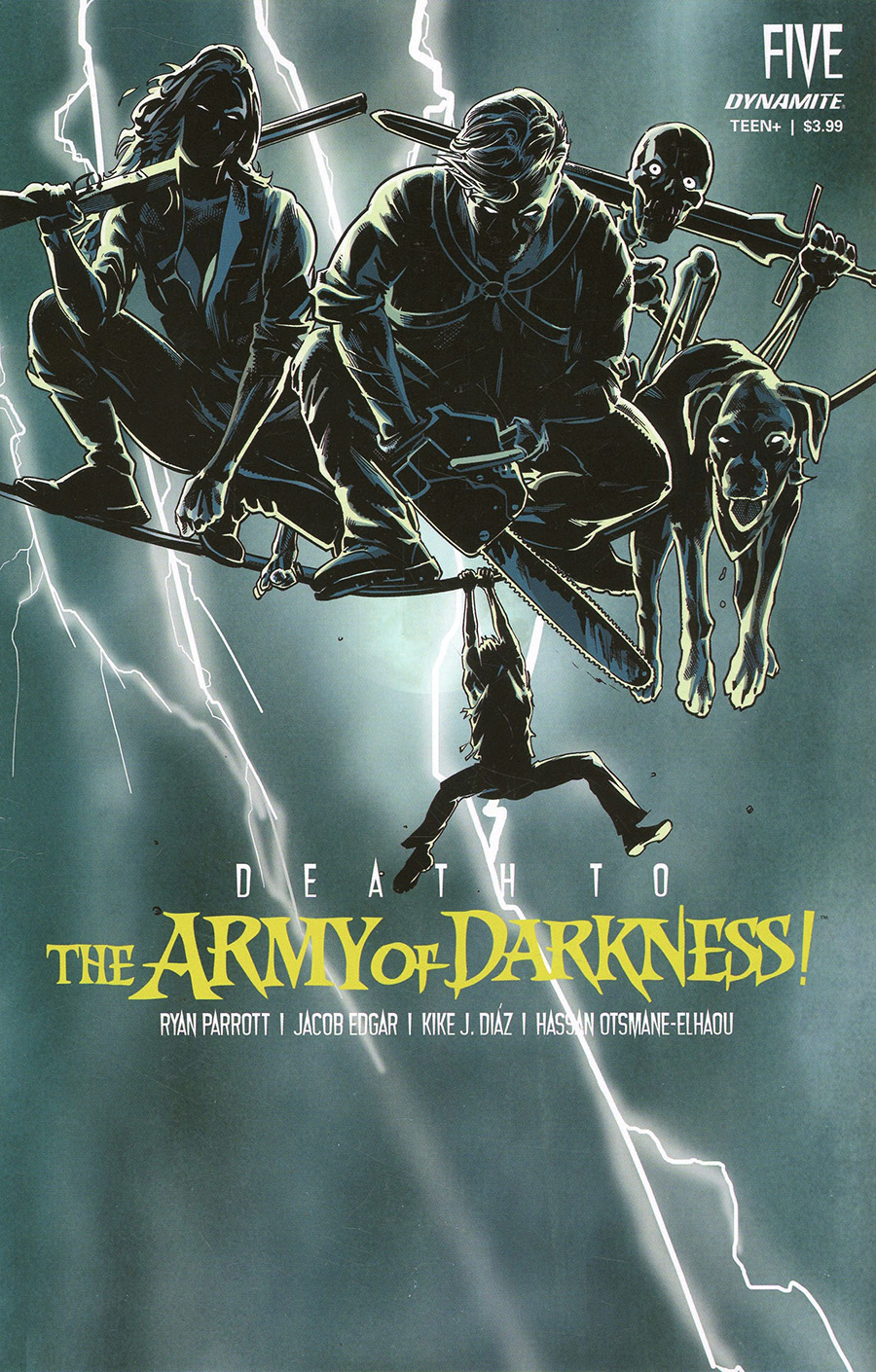 Death To The Army Of Darkness #5 Cover D Variant Stephen Mooney Frank Miller Homage Cover