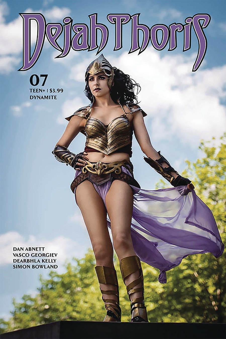 Dejah Thoris Vol 3 #7 Cover E Variant Samantha Estrada Cosplay Photo Cover