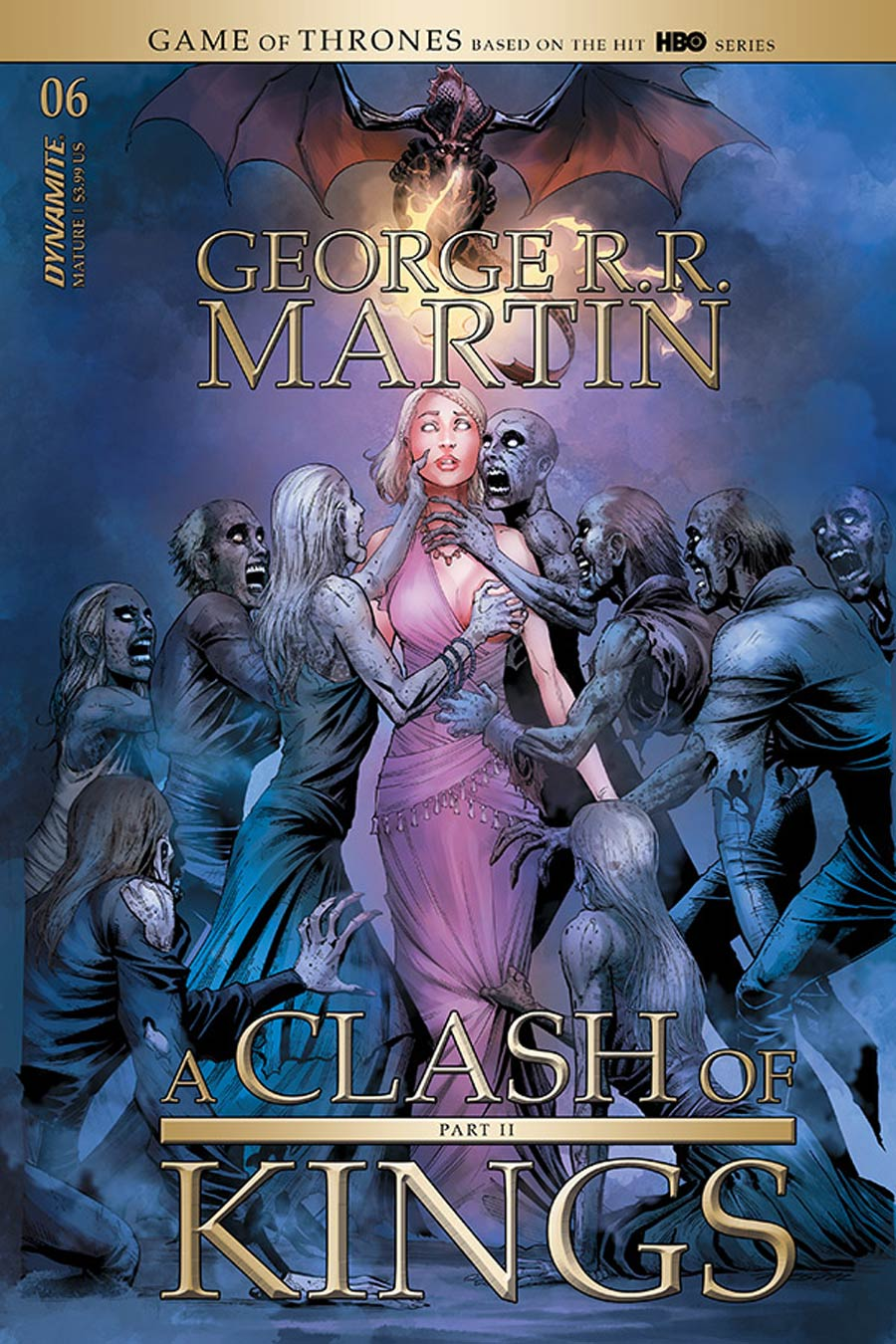 Game Of Thrones Clash Of Kings Vol 2 #6 Cover A Regular Mike Miller Cover