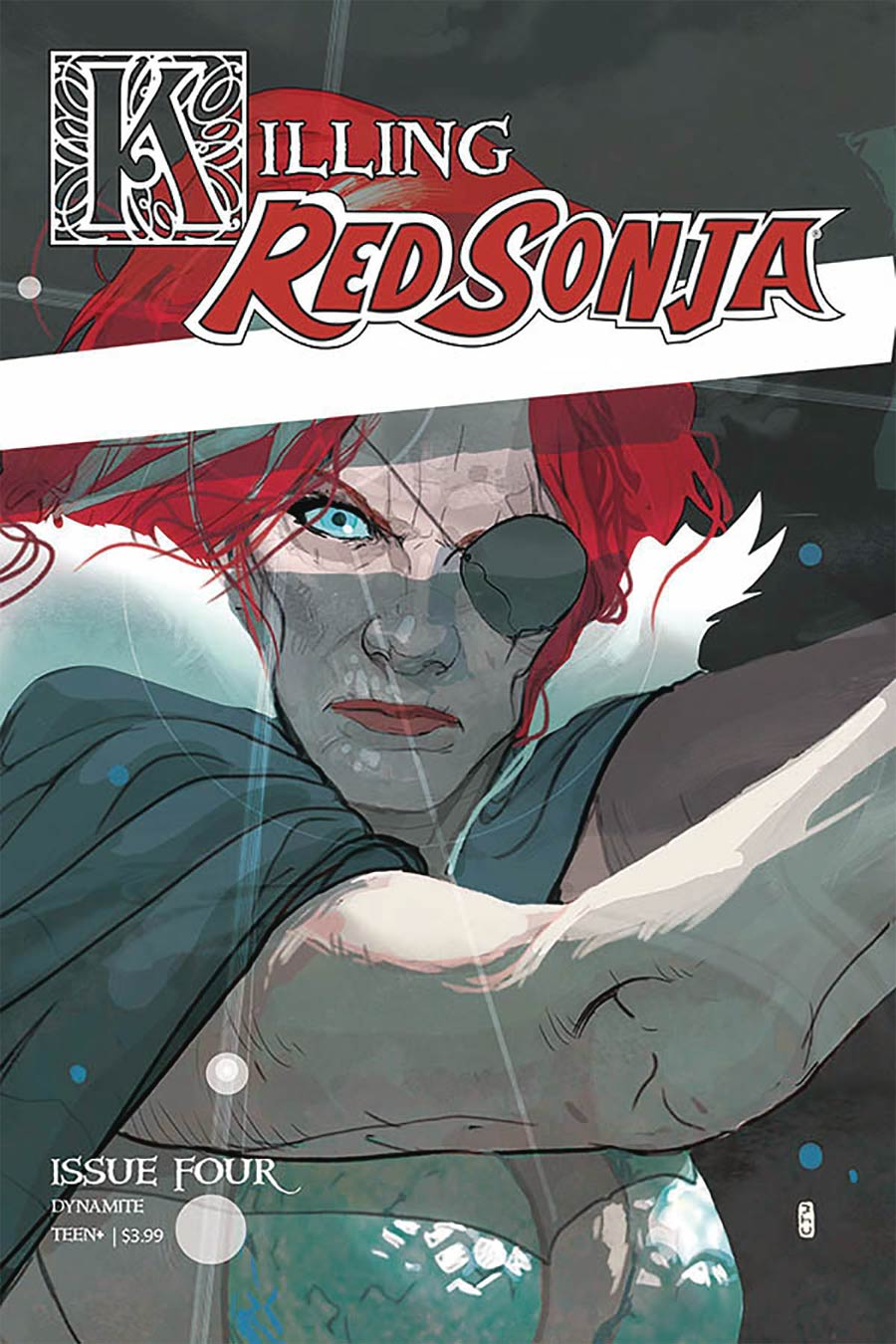 Killing Red Sonja #4 Cover A Regular Christian Ward Cover