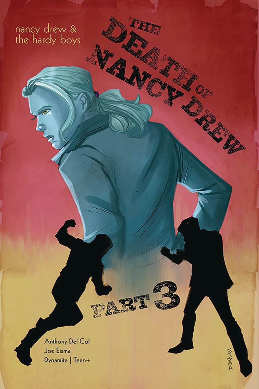 Nancy Drew And The Hardy Boys Death Of Nancy Drew #3 Cover A Regular Joe Eisma Cover