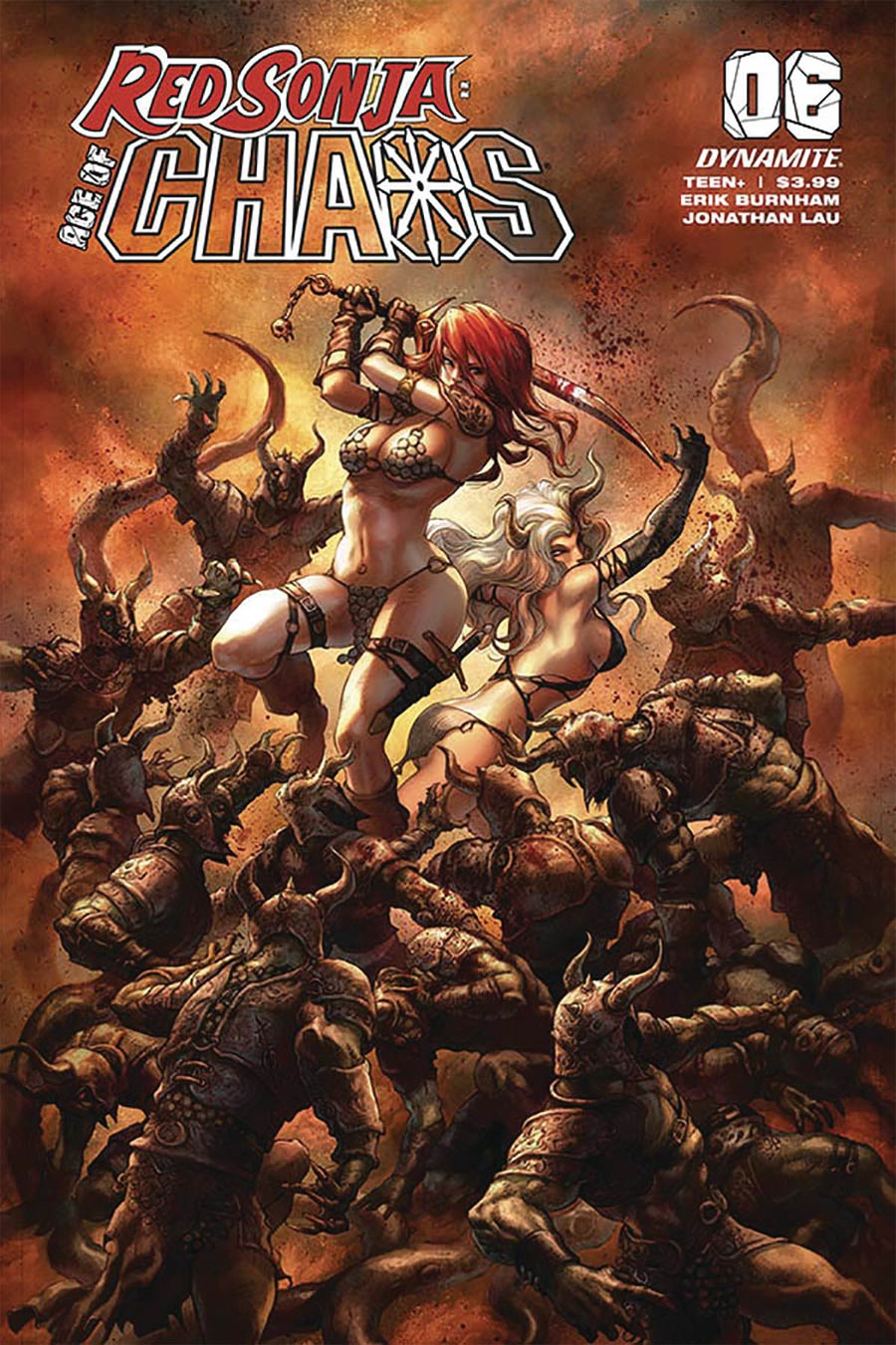 Red Sonja Age Of Chaos #6 Cover B Variant Alan Quah Cover