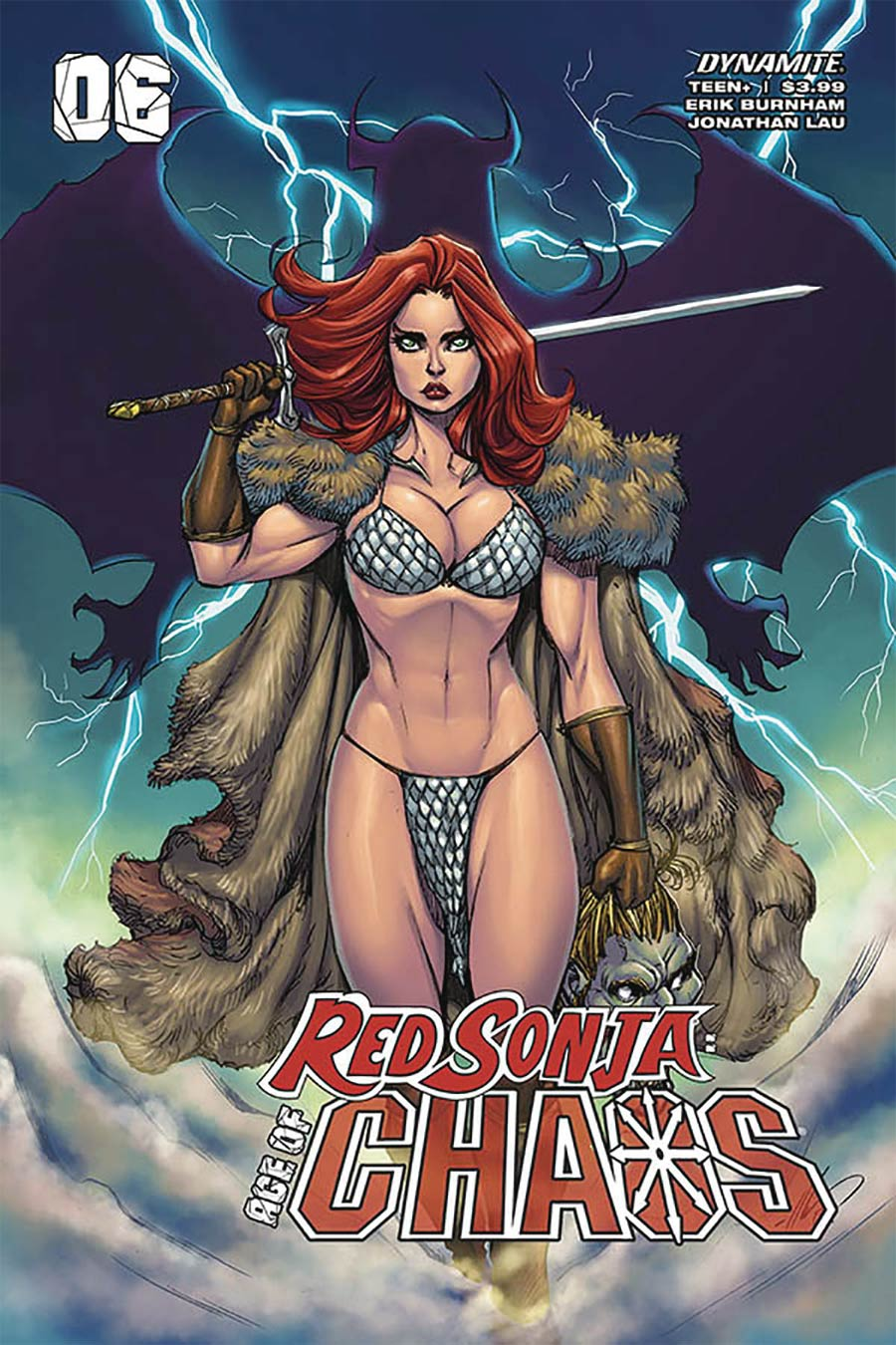 Red Sonja Age Of Chaos #6 Cover C Variant Ale Garza Cover