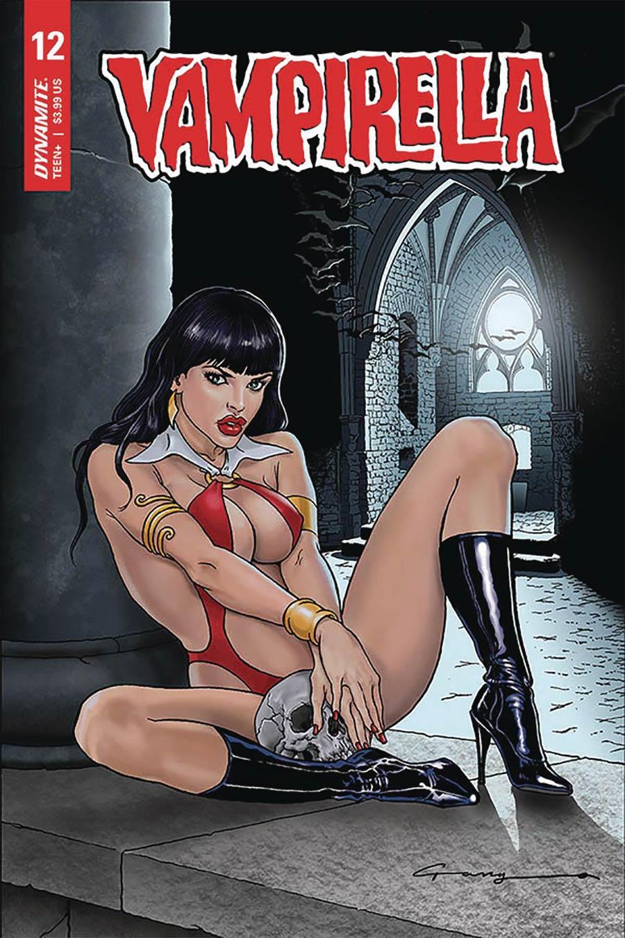 Vampirella Vol 8 #12 Cover B Variant Levend Canga Cover