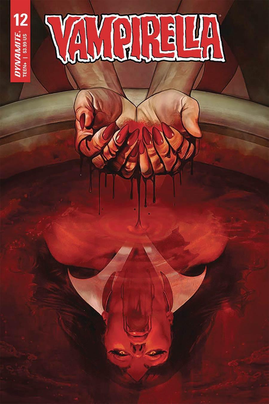 Vampirella Vol 8 #12 Cover C Variant Fay Dalton Cover