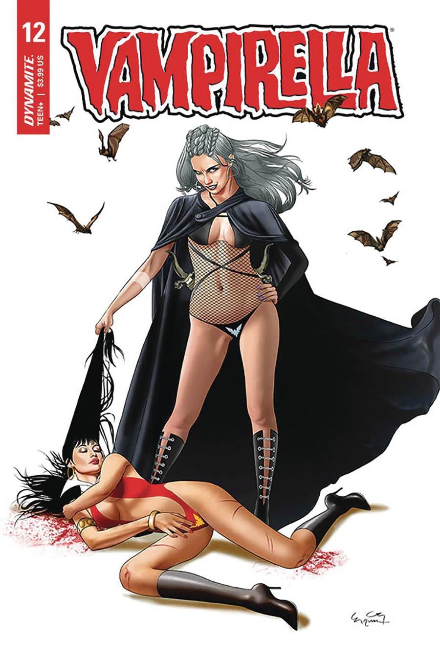 Vampirella Vol 8 #12 Cover D Variant Ergun Gunduz Cover