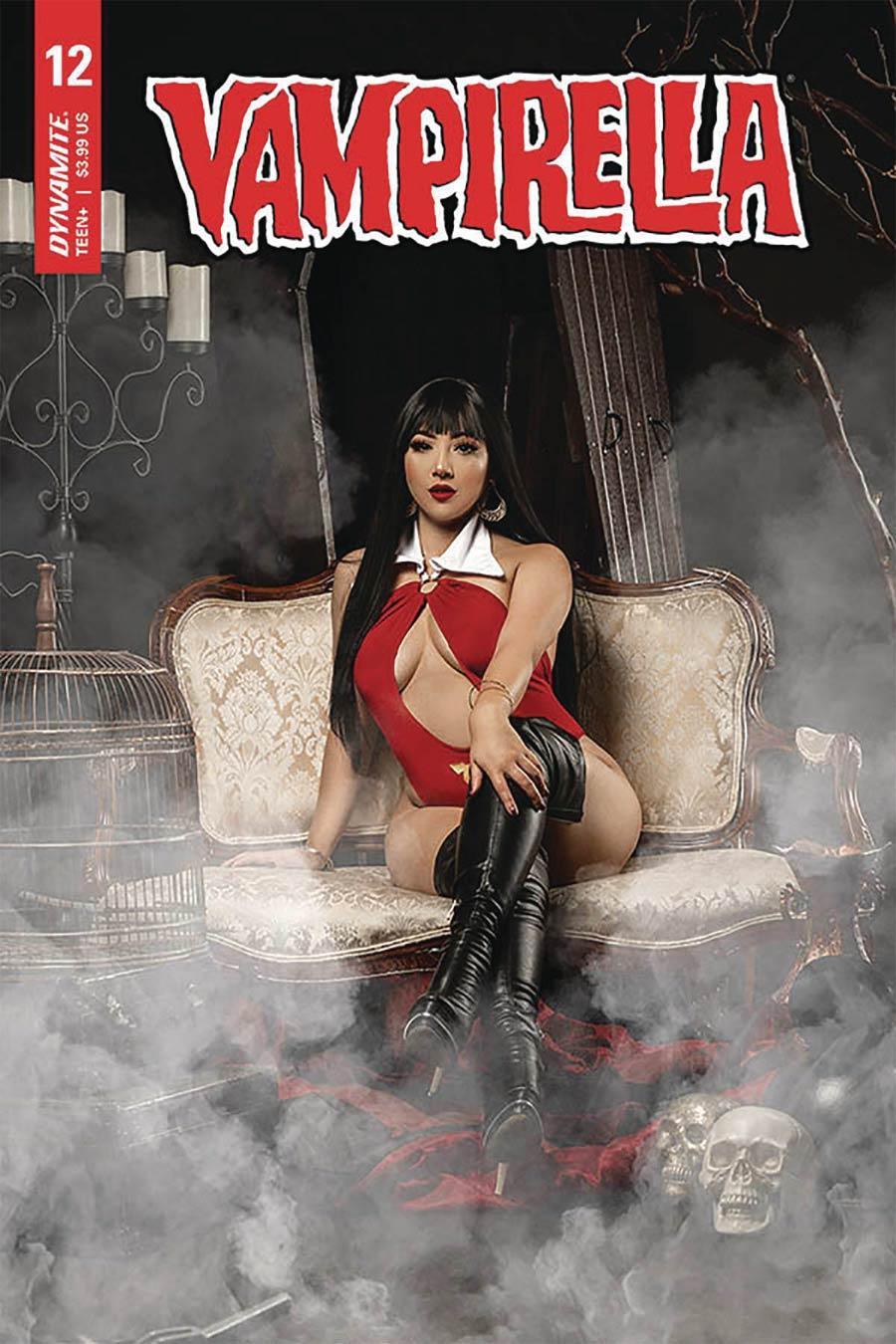 Vampirella Vol 8 #12 Cover E Variant Marissa Ramirez Cosplay Photo Cover
