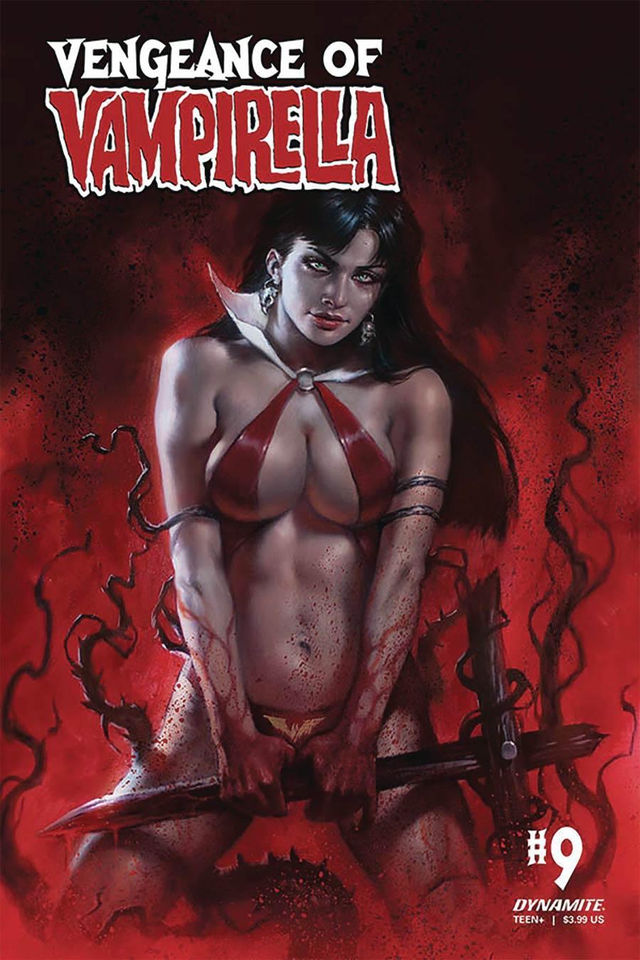 Vengeance Of Vampirella Vol 2 #9 Cover A Regular Lucio Parrillo Cover