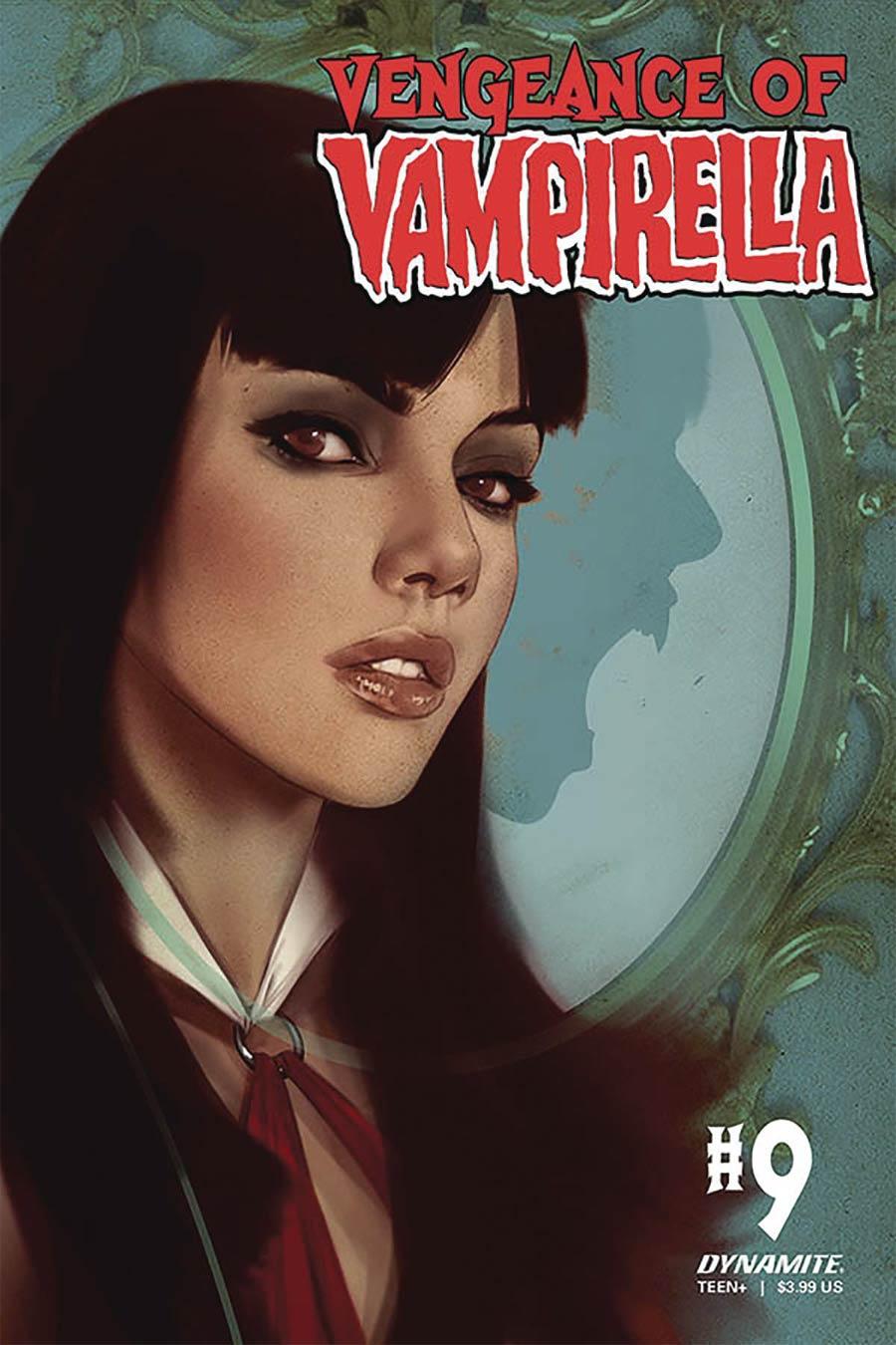 Vengeance Of Vampirella Vol 2 #9 Cover B Variant Ben Oliver Cover