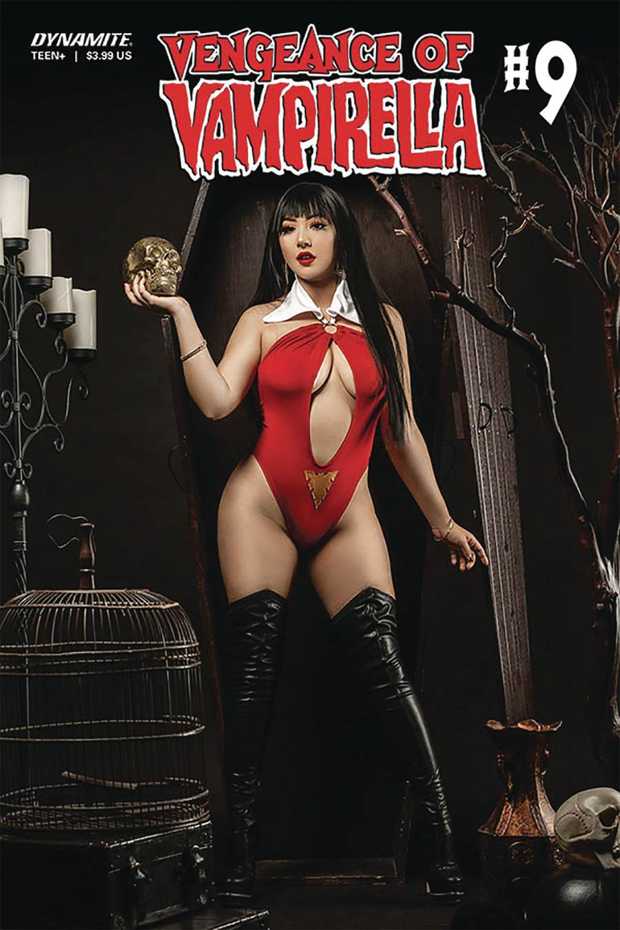 Vengeance Of Vampirella Vol 2 #9 Cover D Variant Marissa Ramirez Cosplay Photo Cover