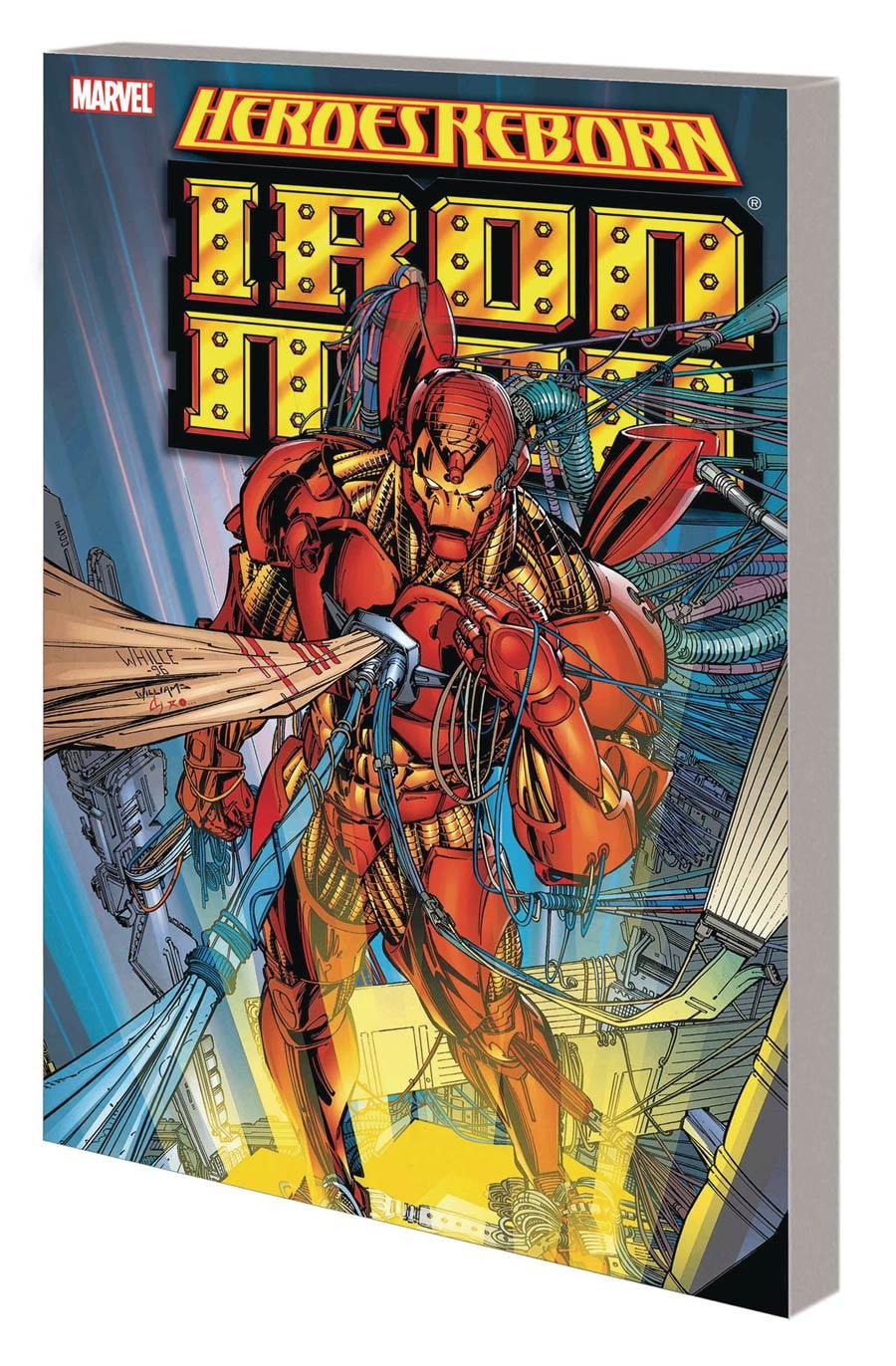 Heroes Reborn Iron Man TP New Printing