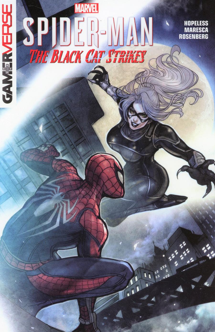 Marvels Spider-Man Black Cat Strikes TP