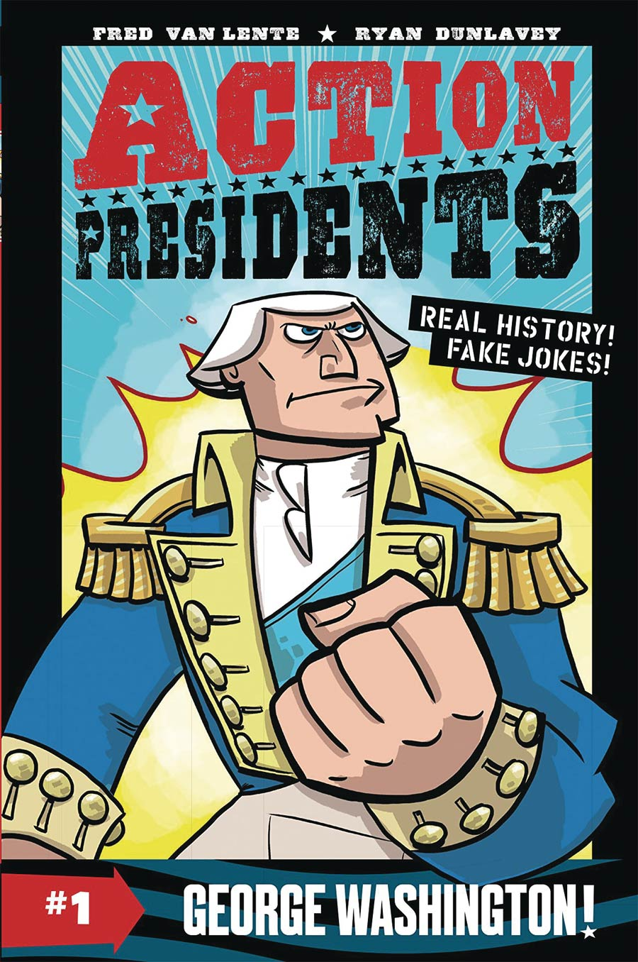 Action Presidents Color Edition Vol 1 George Washington TP