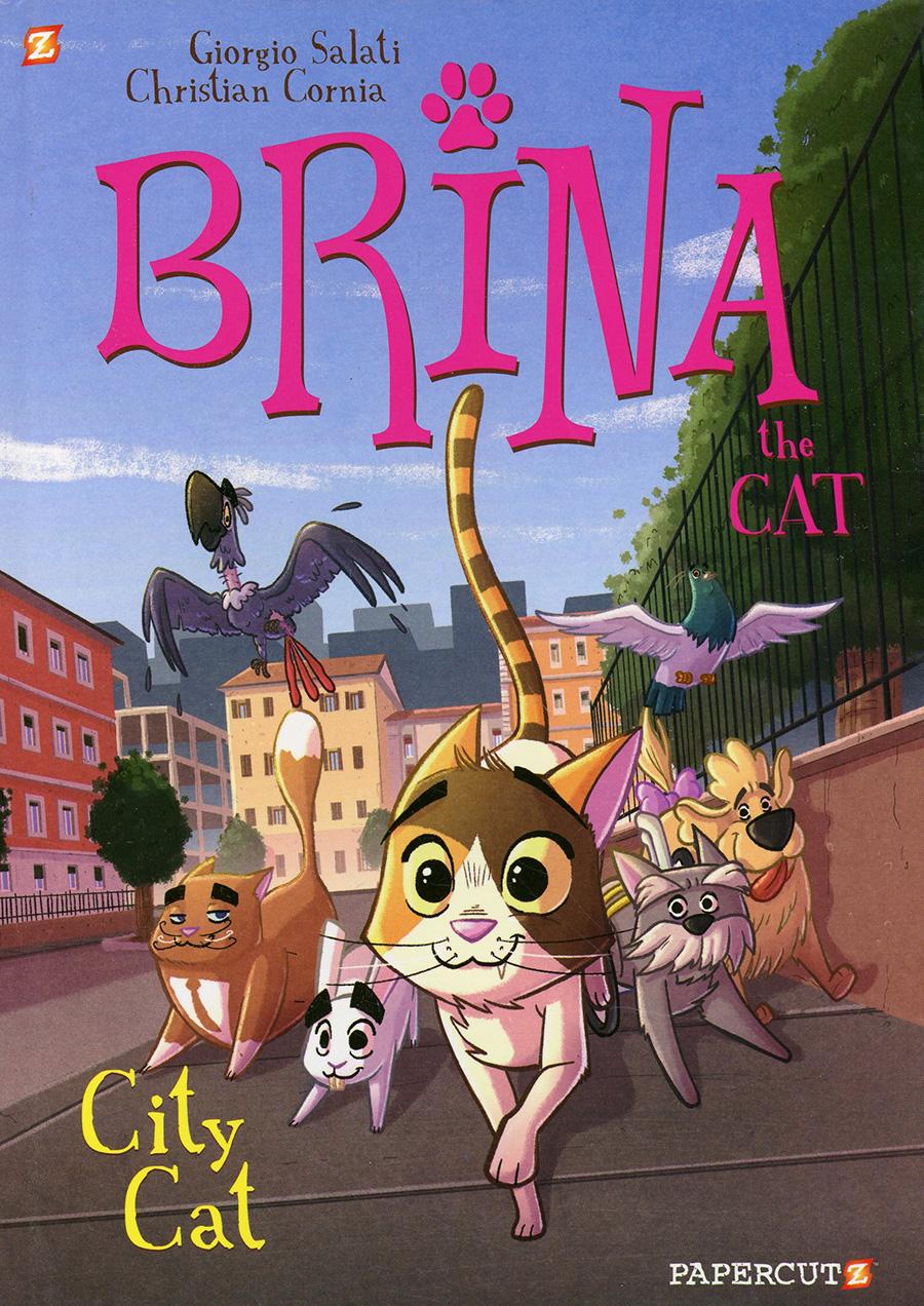 Brina The Cat Vol 2 City Cat HC