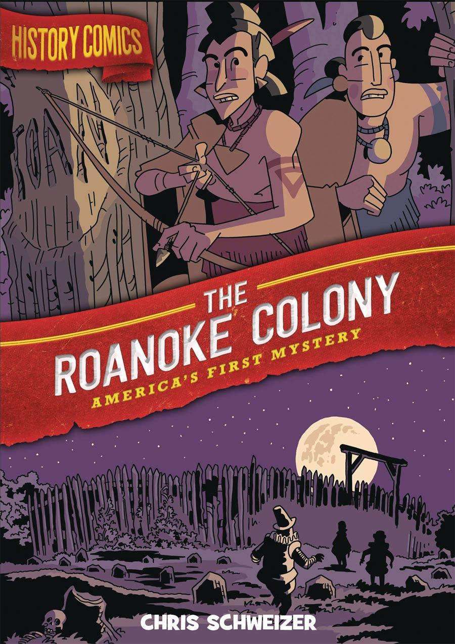 History Comics Roanoke Colony TP