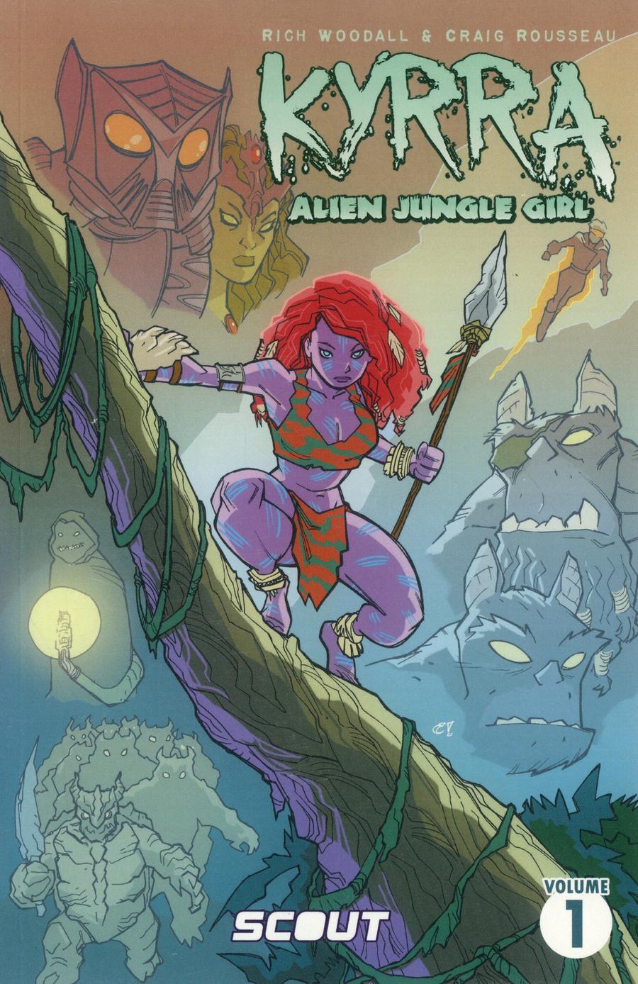 Kyrra Alien Jungle Girl TP