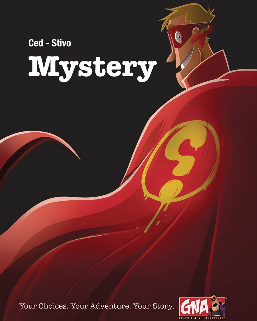 Mystery A Graphic Novel Adventure HC