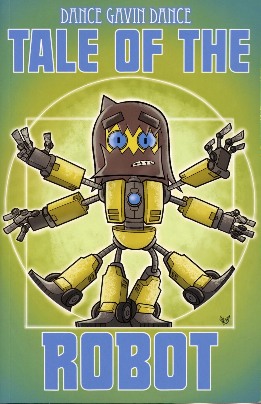 Tale Of The Robot A Dance Gavin Dance Graphic Novel TP